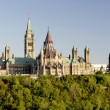 Parliament Hill Canada Sunset — Stock Photo
