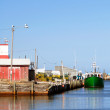 Maritime Fishing Port — Stock Photo