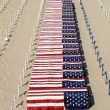 Coffins On The Beach -War Protes - Stock Photo