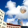 Wellington's Civic Square, New Zealand - Stock Photo