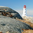 Peggy Cove, Nova Scotia - Lighthouse - Stock Photo