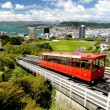 Wellington Cable Car - Stock Photo