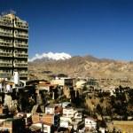 la paz, bolivia — Foto de Stock