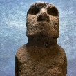 Royalty-Free Stock Photo: Moai Head
