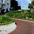 Lombard Street - San Francisco - Stock Photo