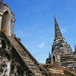 Royal Chedi - Ayuthaya, Thailand - Stock Photo