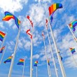 Foto de Stock  : Pride Flags