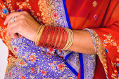 Sari detay — Stok fotoğraf
