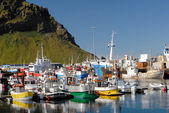 "Heimaey harbor - ""Westman Islands"" (Vestmannaeyjar), Iceland — Stock Photo"