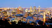 Montreal, Canada by night — Photo