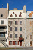Quebec City Historic Homes — Stock Photo