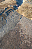 Alluvial fan in North-East Greenland. — Stock Photo