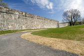 The fortified Walls of Quebec — Stock Photo