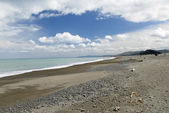 Peaceful Beach on the Eastern Cape of New Zealand North Islandv — Stock Photo