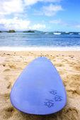 Hawaiian Surfboard — Stock Photo