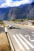 Montaña superior airport.6 — Foto de Stock