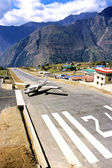 Mountain top airport.6 — Stockfoto