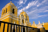 Spanish colonial church in Trujillo, Peru — Stok fotoğraf