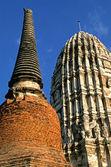 Wat ratburana, thailand ayuthaya — Photo