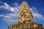 Wat Ratburana - Ayuthaya, Thailand — Stock Photo