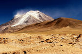 High Andean Volcano — Stock Photo