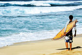 Hawaiian Surf — Stock Photo
