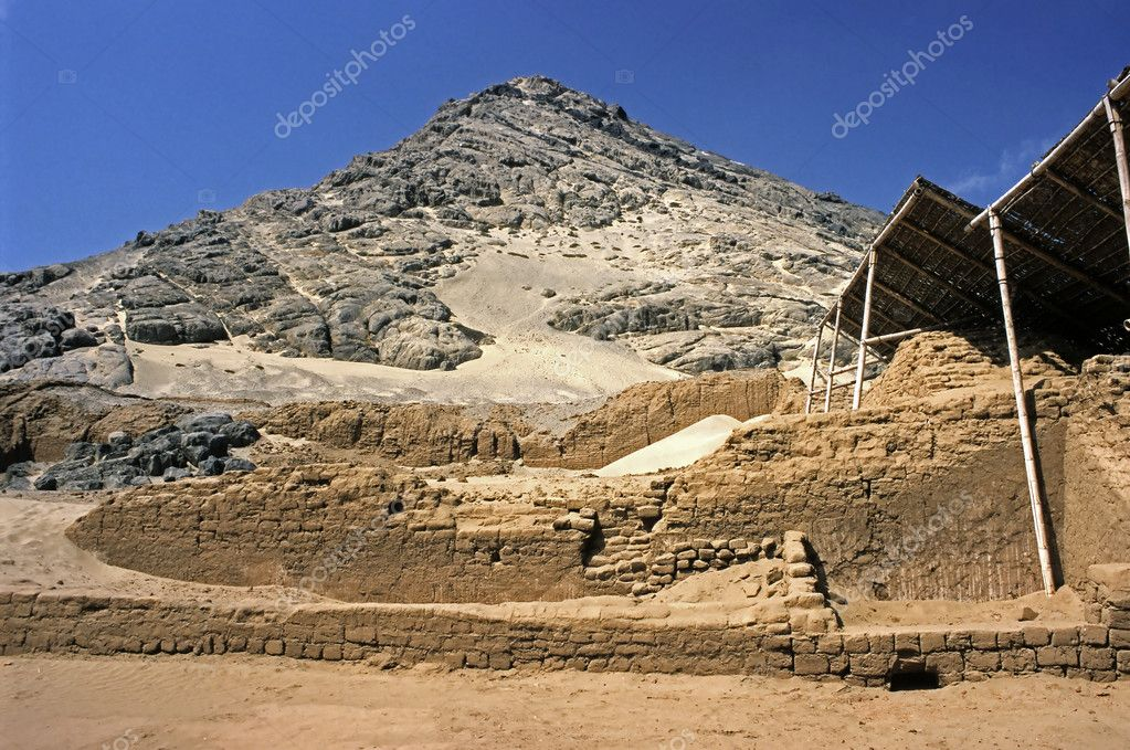 This image shows Huaca Del Luna Archeological Sight — Stock Photo #11088272