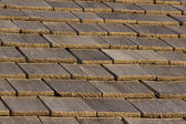 Wood Shingle Roof — Stock Photo