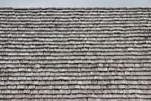 Rows of shingles on a roof — Stock Photo