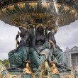 Paris - fountain from Place de la Concorde — Stock Photo