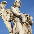 Stock Photo: Rome - Angel with garment and dice