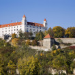 Братислава - замок — Стоковое фото