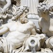 Stock Photo: Vienn- detail from Palas Athenfountain