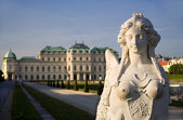 Vienna - sphinx from Belvedere palace — Stock Photo