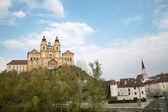Melk - barroco closister de austria — Foto de Stock