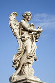 Rome - Ponte Sant'Angelo - Angels bridge - Angel with the thorn crown — Stockfoto