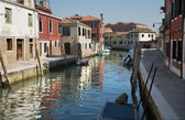 Venice - canal from Murano island — Stock Photo