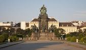 Vienna - Maria Theresia memorial and square — Stock Photo