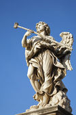 Rome - Angel with Sponge from Angel s bridge — Стоковое фото