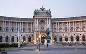 Viyana - nacional kitaplığı'nda sabah — Stok fotoğraf