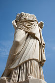 Rome - statue from Atrium Vestae - Forum romanum — Stock Photo