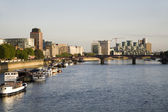 London - am fluss — Stockfoto