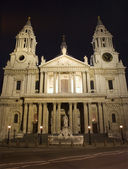London - st. Pauls cathedral at night — Stok fotoğraf