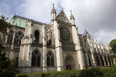 Paris - Saint Denis cathedral - east facade — Stock Photo