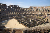 Rome - colosseum interior — Stock Photo