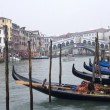 Stock Photo: Venice - canal grande in winter