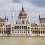 Budapest - parliament — Stock Photo
