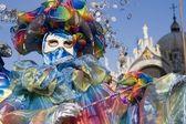 Masque de carnaval vernice — Photo