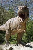 Tyrannosaurs rex - Bratislava zoo garden — 图库照片
