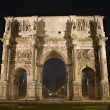 Rome - Constantine triumph arch at night — Stock Photo